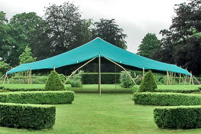 Berber Tent, North Yorkshire at Scampston Hall gardens