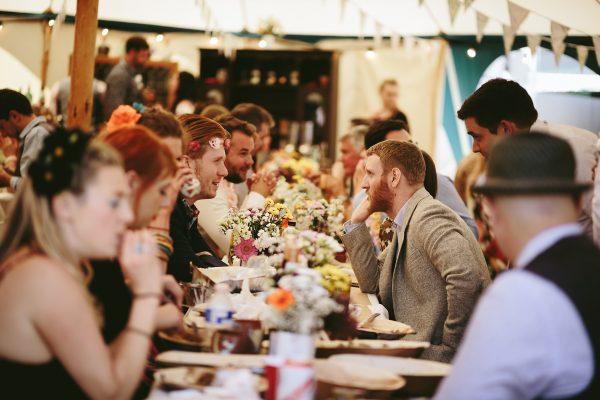 Wedding guests, Slaley, Northumberland