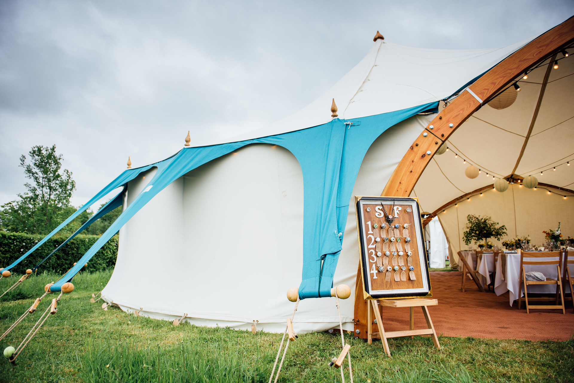 Northumberland alternative wedding marquee