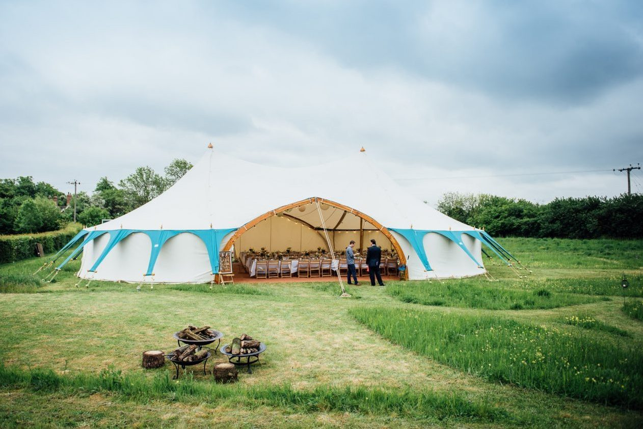 North East alternative wedding marquee