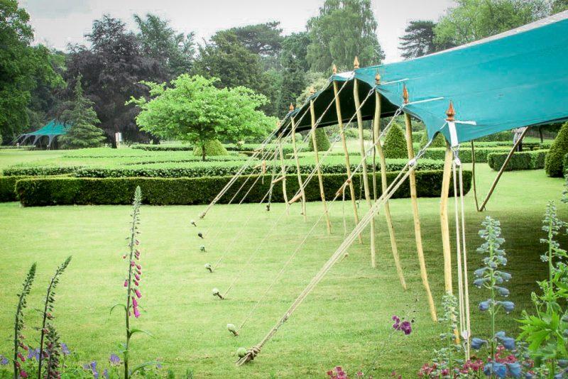 Berber tent Stanton Gardens