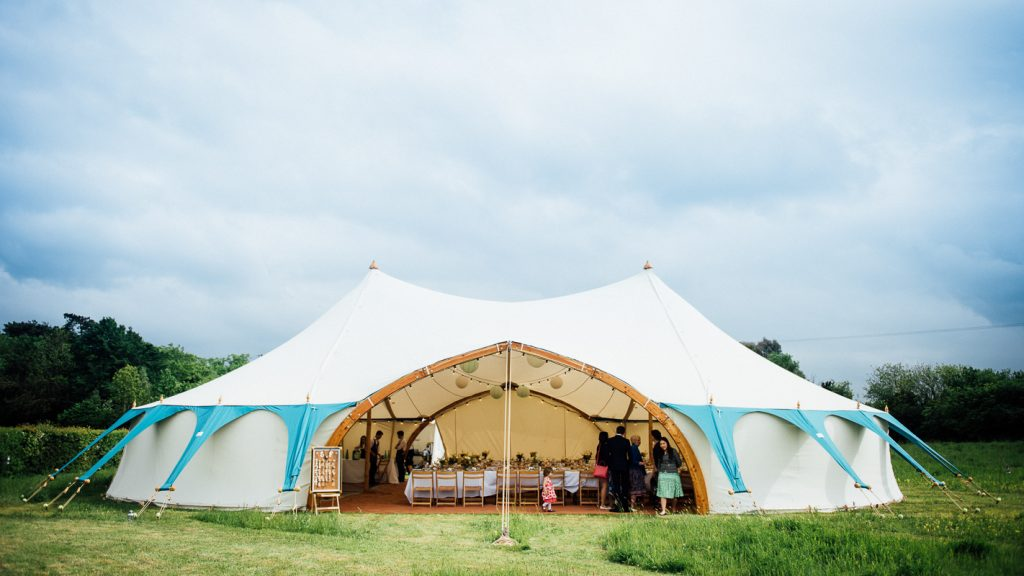 north east wedding marquee
