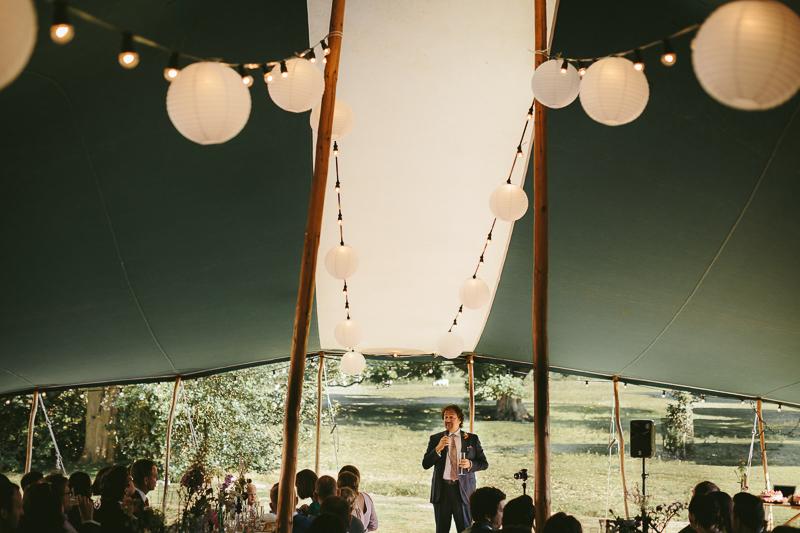 canvas wedding tent, Budle Northumberland