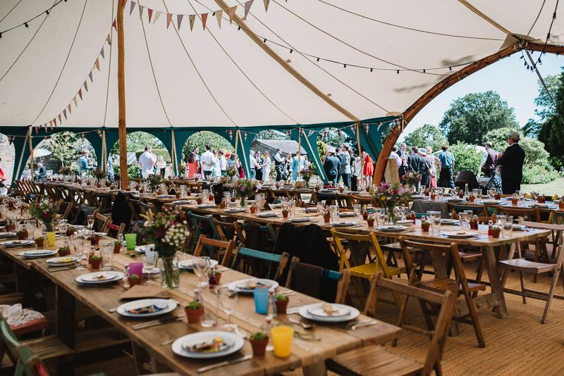 Wedding marquee tent , Alnwick Northumberland