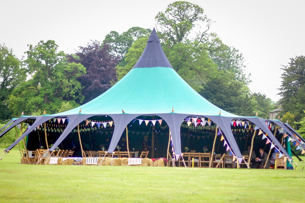 Alternative marquee party tent