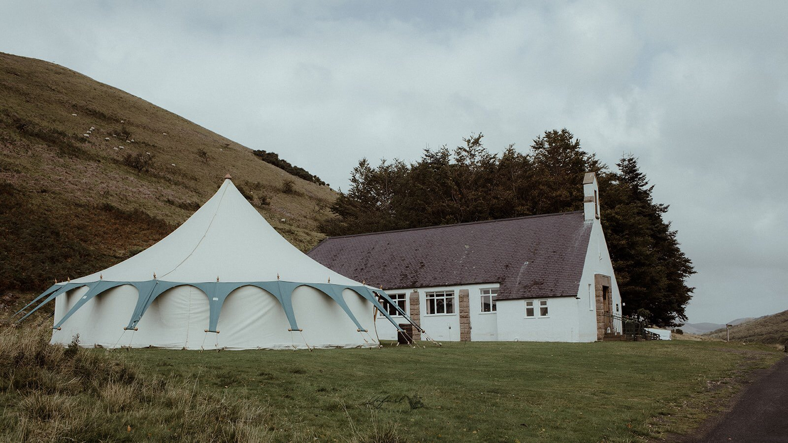 lockdown wedding marquee Northumberland